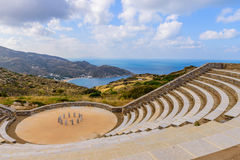 The ancient amphitheatre Stock Photography