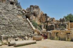 Ancient amphitheatre Stock Photo