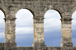 Ancient amphitheatre in Pula Royalty Free Stock Images