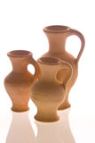 Ancient amphora. Roman or greek amphora type pottery Stock Image