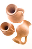 Ancient amphora. Roman or greek amphora type pottery Stock Photography