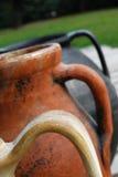 Ancient amphora handles Royalty Free Stock Photo