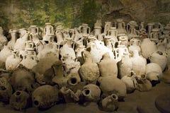 Ancient amphoras Stock Photo