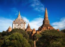 Ancient Ananda Temple at Bagan. Myanmar (Burma) Stock Photos