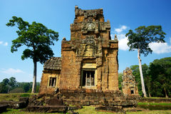 Ancient Angkor Ruins Royalty Free Stock Photos