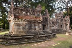 Ancient Angkor ruins Stock Photo