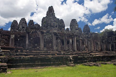 Ancient Angkor temple Bayon Stock Image