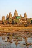 Ancient Angkor Wat Stock Photography