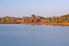Ancient Angkor Wat Royalty Free Stock Photos