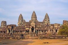 Ancient Angkor Wat Royalty Free Stock Photography