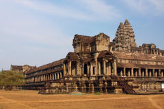 Ancient Angkor Wat Royalty Free Stock Images