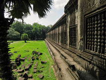 Ancient Angkor Wat Royalty Free Stock Photography