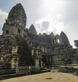 Ancient Angkor Wat Stock Photo