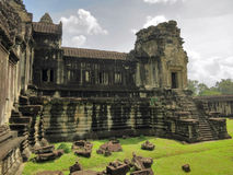 Ancient Angkor Wat Royalty Free Stock Photos