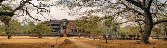 Ancient Angkor Wat in Siem Reap, Cambodia. Royalty Free Stock Photos