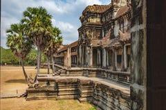 Ancient Angkor Wat in Siem Reap, Cambodia. Stock Photos