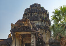 Ancient Angkor Wat in Siem Reap, Cambodia. Royalty Free Stock Image