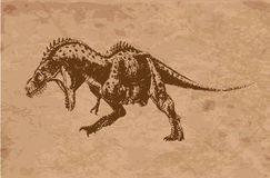 Ancient animals Stock Photo