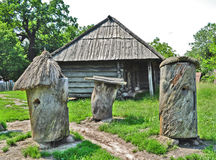 Ancient apiary 4 Royalty Free Stock Image