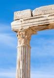 Ancient Apollo temple Stock Photo