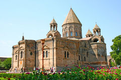 Ancient Apostolic church in Armenia. Mother Cathedral of Holy Etchmiadzin, one of the oldest churches in the world, it was first built by Saint Gregory the Stock Photos