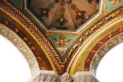 Ancient Apostolic church in Armenia. Mother Cathedral of Holy Etchmiadzin, one of the oldest churches in the world, it was first built by Saint Gregory the Royalty Free Stock Photography