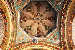 Ancient Apostolic church in Armenia. Mother Cathedral of Holy Etchmiadzin, one of the oldest churches in the world, it was first built by Saint Gregory the Royalty Free Stock Photo