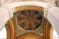 Ancient Apostolic church in Armenia stock photography