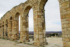 Ancient aqueduc Stock Photo