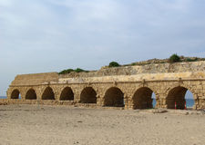 Ancient aqueduct Stock Photo