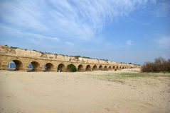 Ancient aqueduct Royalty Free Stock Images