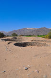 Ancient aqueduct Stock Photo