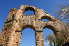 Ancient aqueduct Royalty Free Stock Photography