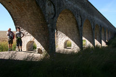Ancient aqueduct Royalty Free Stock Image
