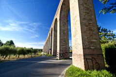 Ancient Aqueduct In Lucca, Italy Royalty Free Stock Images