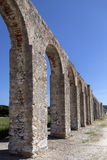Ancient aqueduct - Obidos - Portugal Royalty Free Stock Photos
