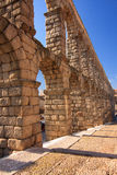 Ancient Aqueduct in Segovia Spain Royalty Free Stock Photos