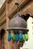 Ancient arabian lamp Royalty Free Stock Images