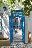 Ancient arabic door. Royalty Free Stock Photo