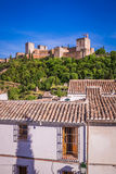 Ancient arabic fortress of Alhambra, Granada, Spain Stock Images