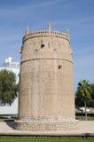 Ancient Arabic Fortress in Dubai Stock Photos