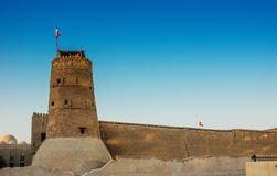 Ancient Arabic Fortress Royalty Free Stock Photo