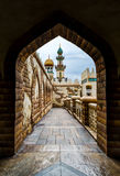 Ancient arabic hallway Royalty Free Stock Images
