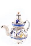 Ancient arabic ornamental teapot Royalty Free Stock Photos