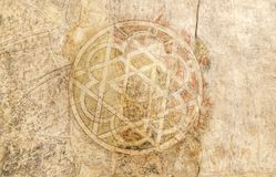 Ancient Arabic symbol Royalty Free Stock Photo
