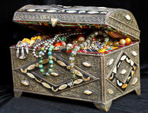 Ancient arabic treasure chest Royalty Free Stock Image