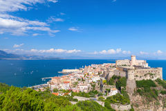 Ancient Aragonese-Angevine Castle in old Gaeta. Ancient Aragonese-Angevine Castle in old town of Gaeta, Italy Stock Photography