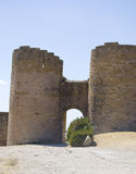 Ancient arc. Of a castle Stock Photos
