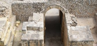 Ancient arc in Tarragona Royalty Free Stock Photos