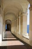 Ancient arcades passageway Stock Image